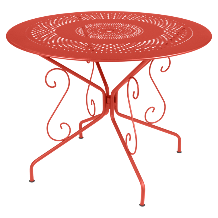TABLE RONDE Ø96CM MONTMARTRE FERMOB | La Table ô Mil\'Chaises