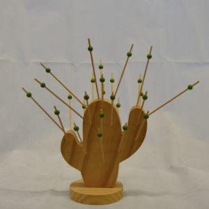 Cactus piques à cocktails