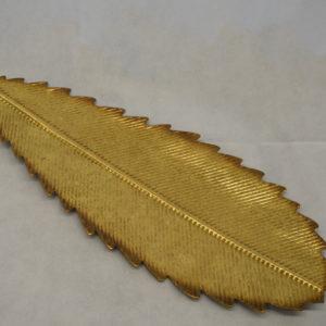 Feuille dorée