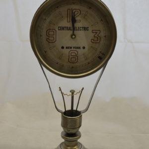Horloge ampoule