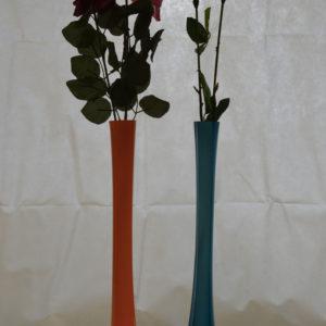 Vases colorés